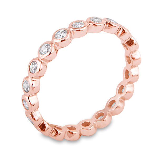 Bezel Eternity Ring