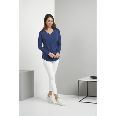 Swing of Beauty Linen Top