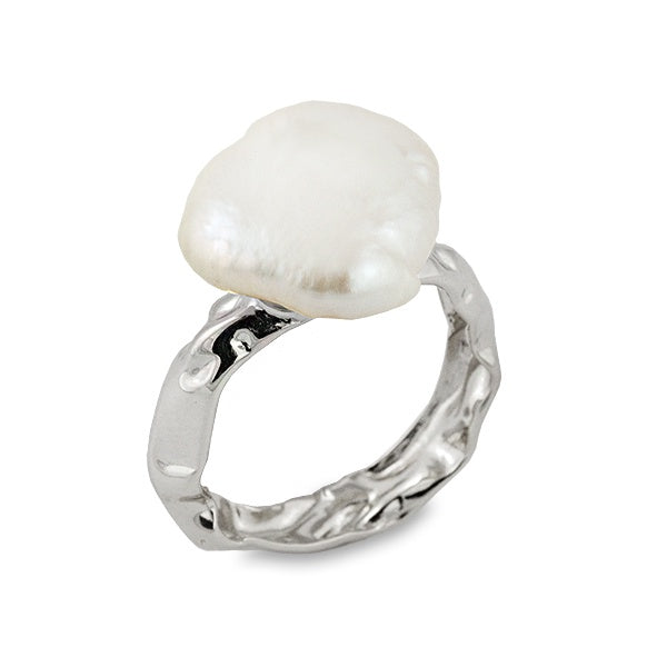 Rockpool Pearl Ring