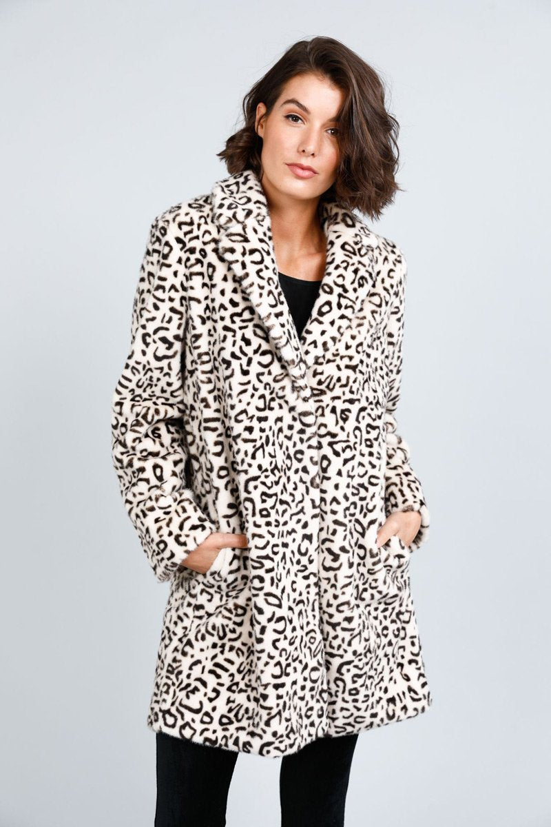 Jungle Faux Fur Coat