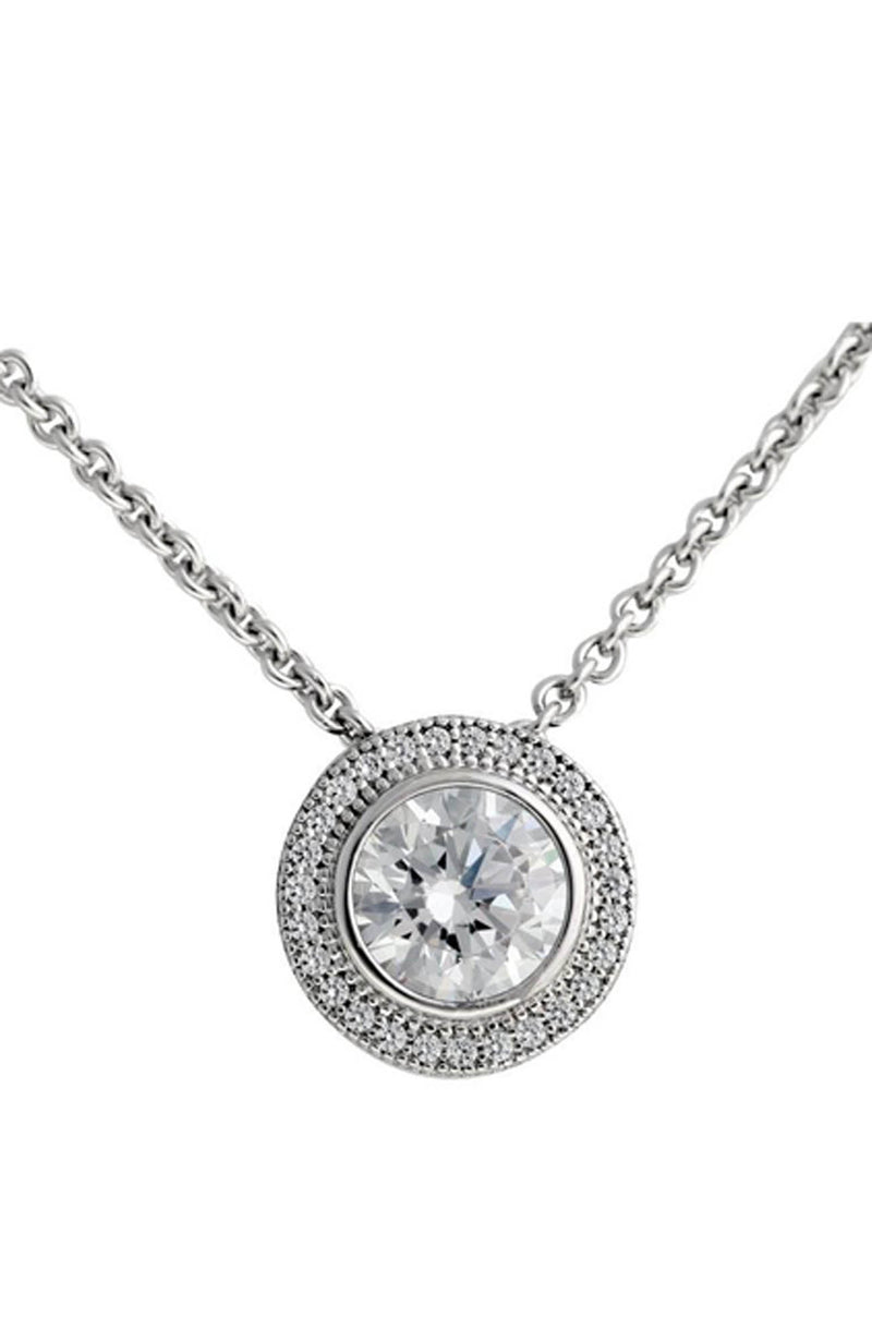 WILLA SILVER NECKLACE