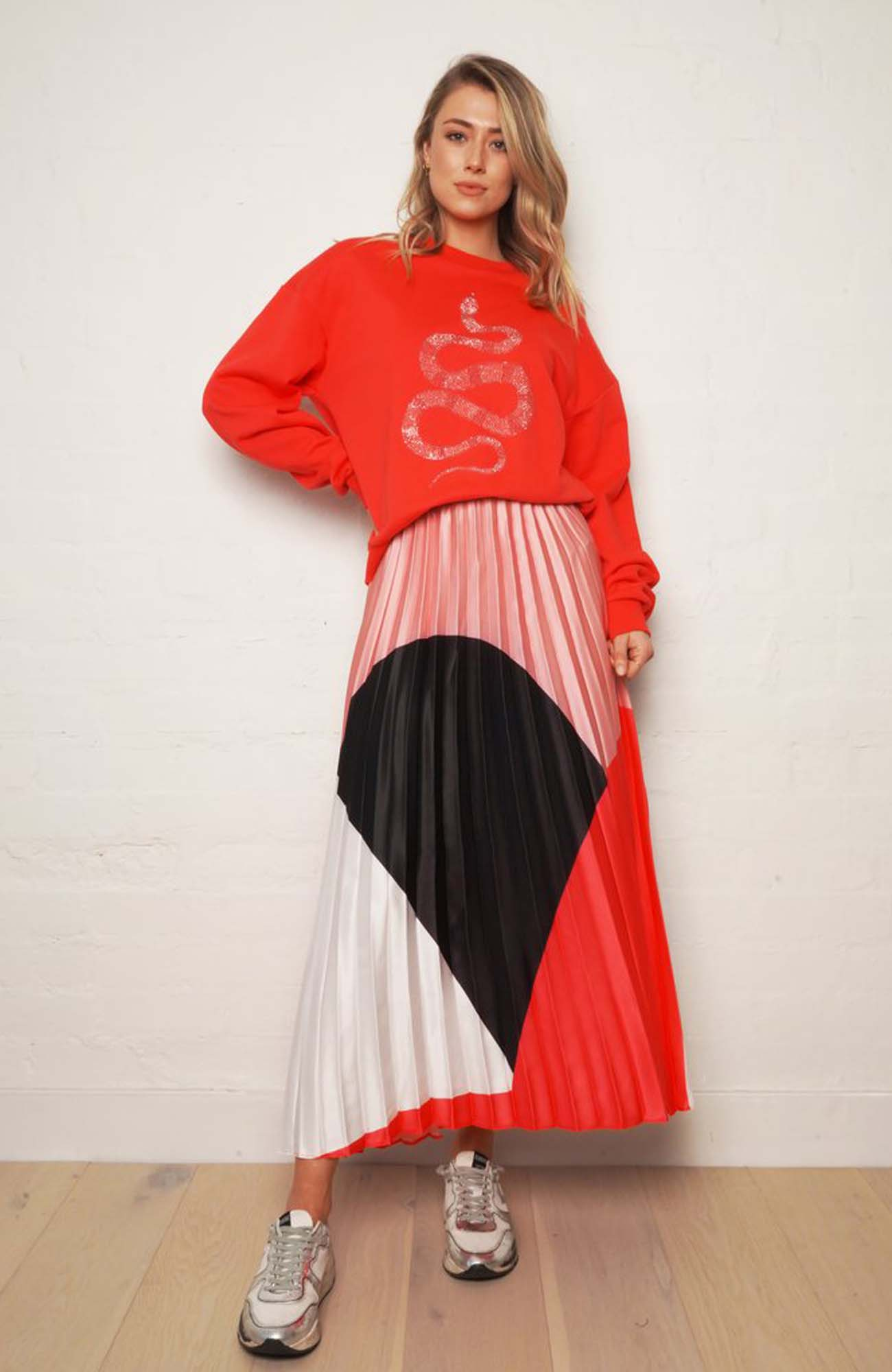 The Sunray Skirt- Guava Pink