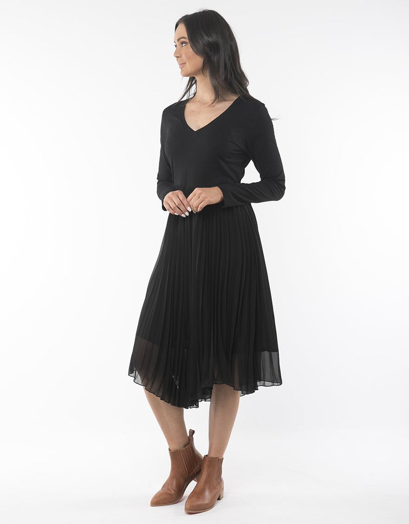 Gabriealla Pleated Dress