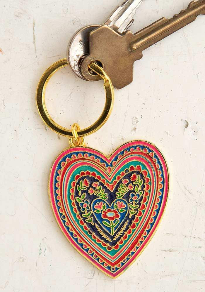 Enamel Key Chain