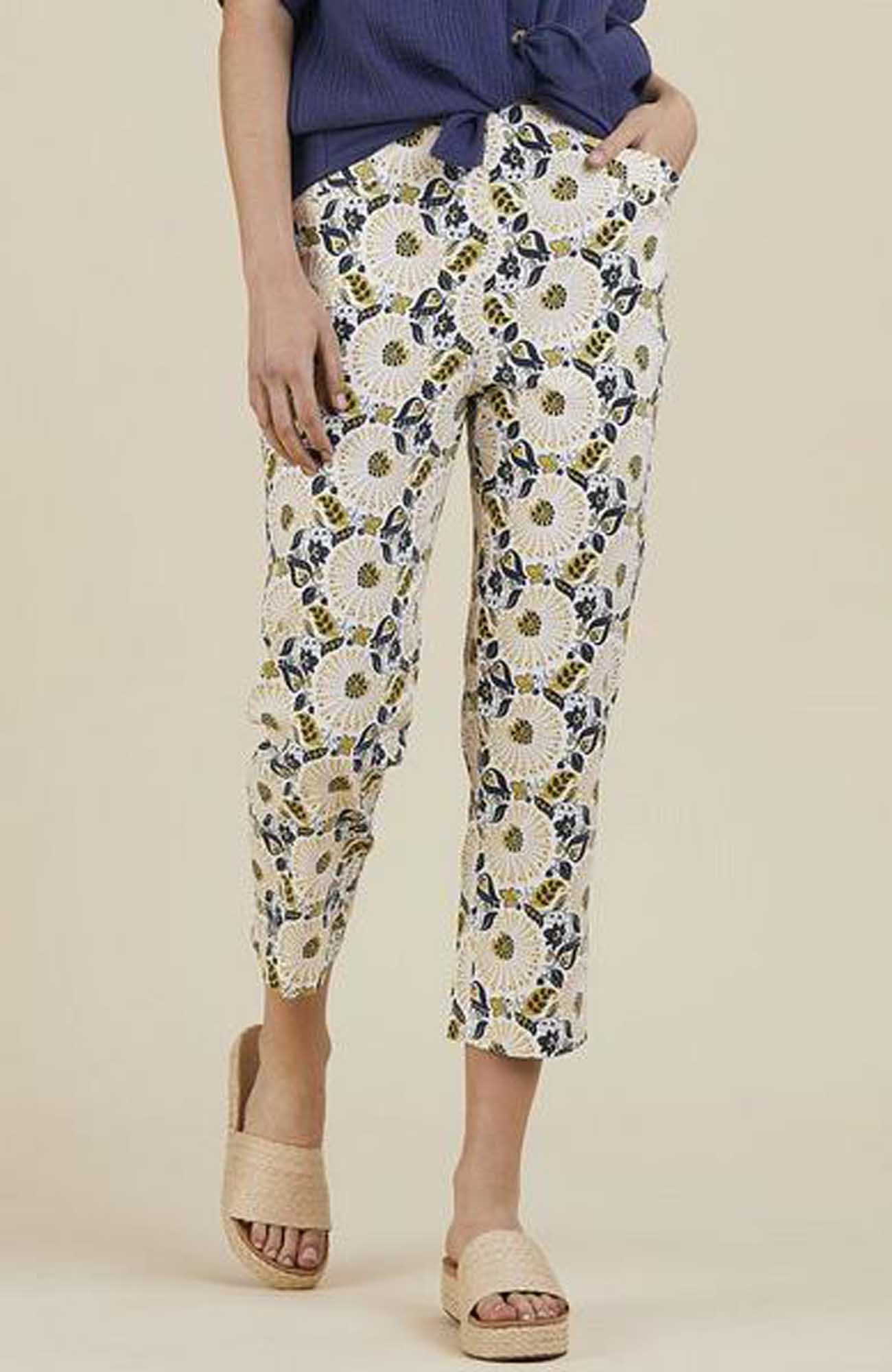 Threadz Printed Pants