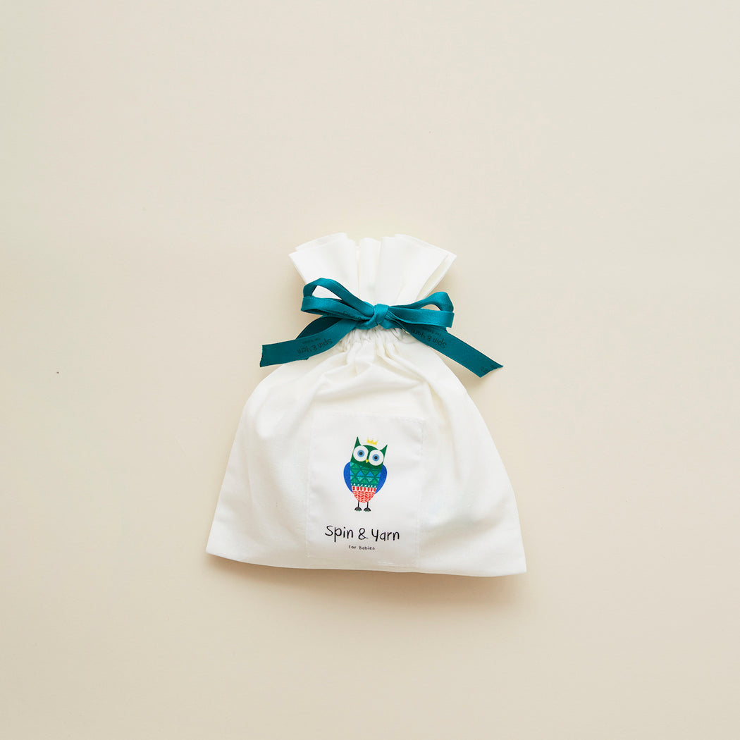 Cotton Fabric Gift Bag by Spin & Yarn – Small