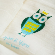 Awl Face Towel-Organic cotton gauze, Spin&yarn