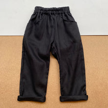 Lui trousers -Black-