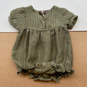 Baby Tuta Playsuit -Matcha Green-