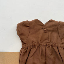 Baby Tuta Playsuit  -Brown-