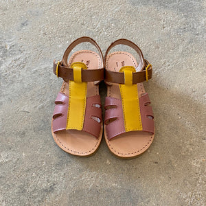 RAI SANDAL -NUDE/YELLOW/TAN-