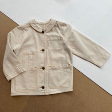 PABLO JACKET -Natural-