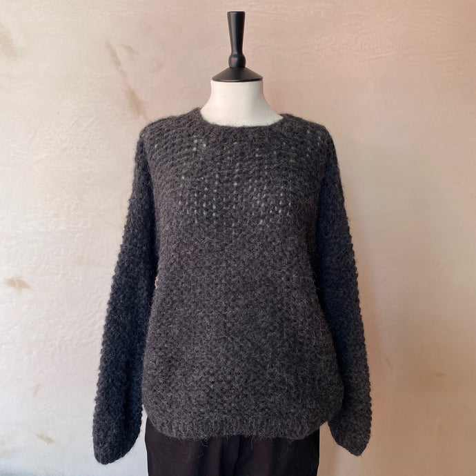 Michi Loop Alpaca Jumper -Anthracite Grey-