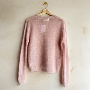 Candy mohair knit -Pink-