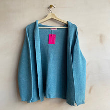 Chan Chan OPEN HOOO CARDI -Light Blue-
