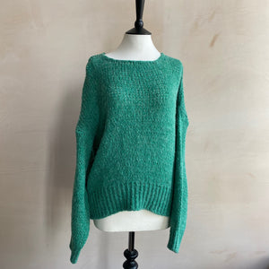 Spring colour knit -Green-