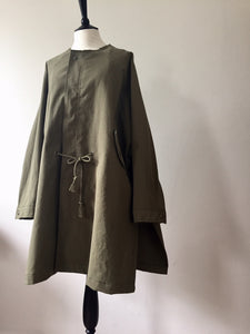 Everyday Cotton Parka-Khaki, Coat, WondrousTheatre, WondrousTheatre,