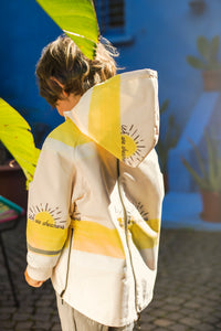 Reversible raincoat-we are dreamer, rain coat, lea&jojo, WondrousTheatre,