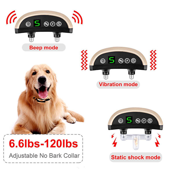 Dog Rechargeable Anti Bark Collar