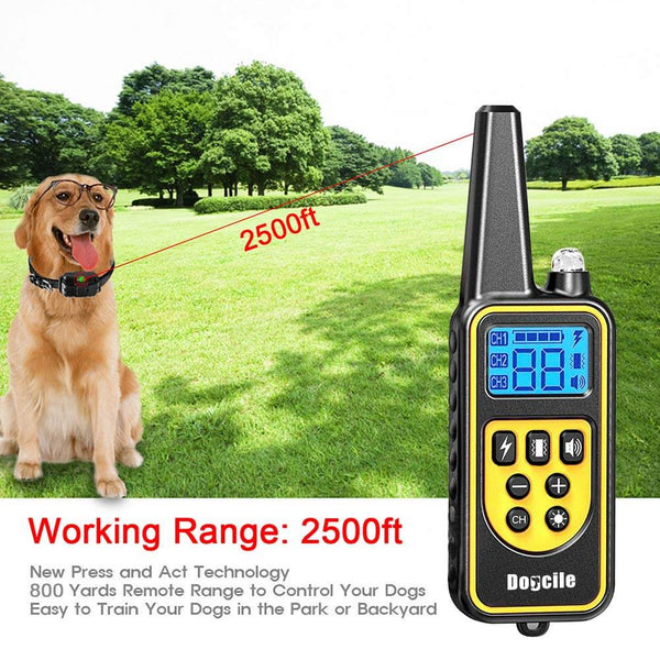 Dog Training Collar with 4 Modes (Factory Outlet)