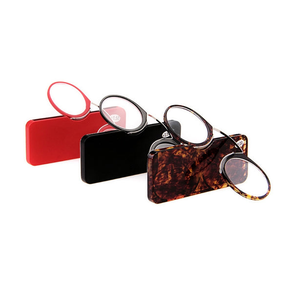 Wallet Reader clip on Mini reading glasses - Thejewellerystyle