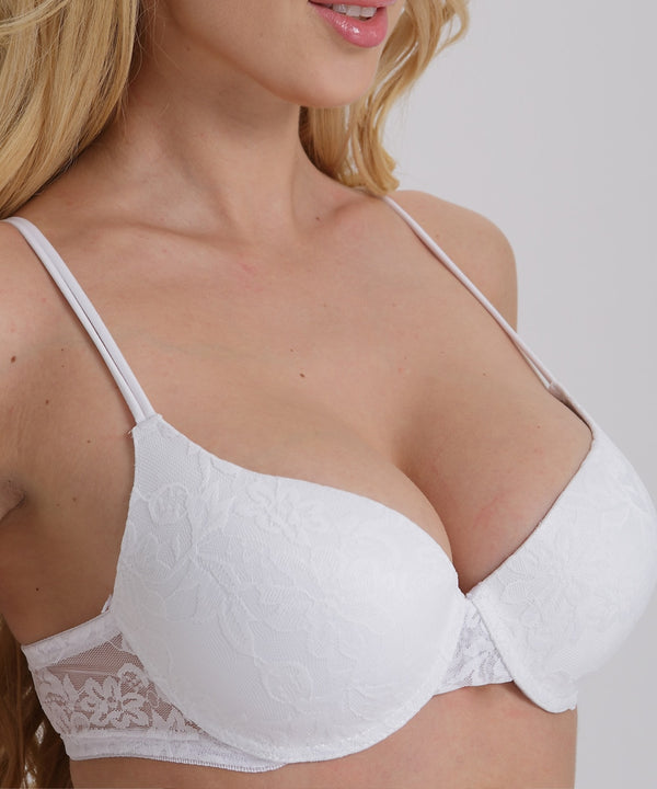 Sexy Push Up Bra Plus Size A B C D Cup Women Bra - Thejewellerystyle