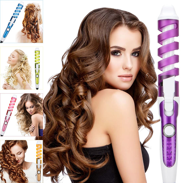 Hair Curler Magic Spiral Curling Iron - Thejewellerystyle