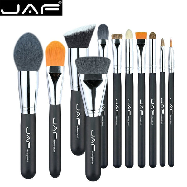 11pcs Makeup Brushes & Tool - Thejewellerystyle