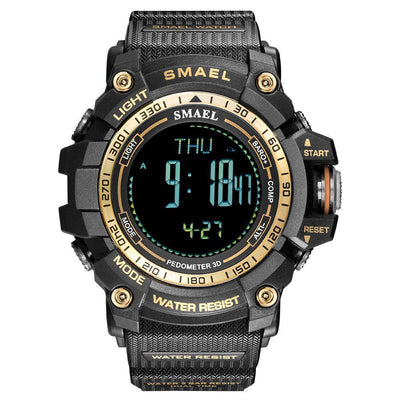 Smael Army Gold 8020 Bluetooth Sport Watch - Smael South Africa