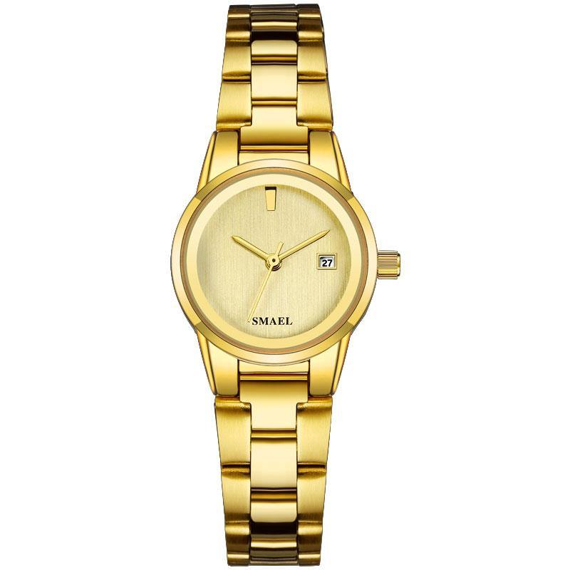 Smael SL9004L Ladies Classic Watch - Gold - Smael South Africa