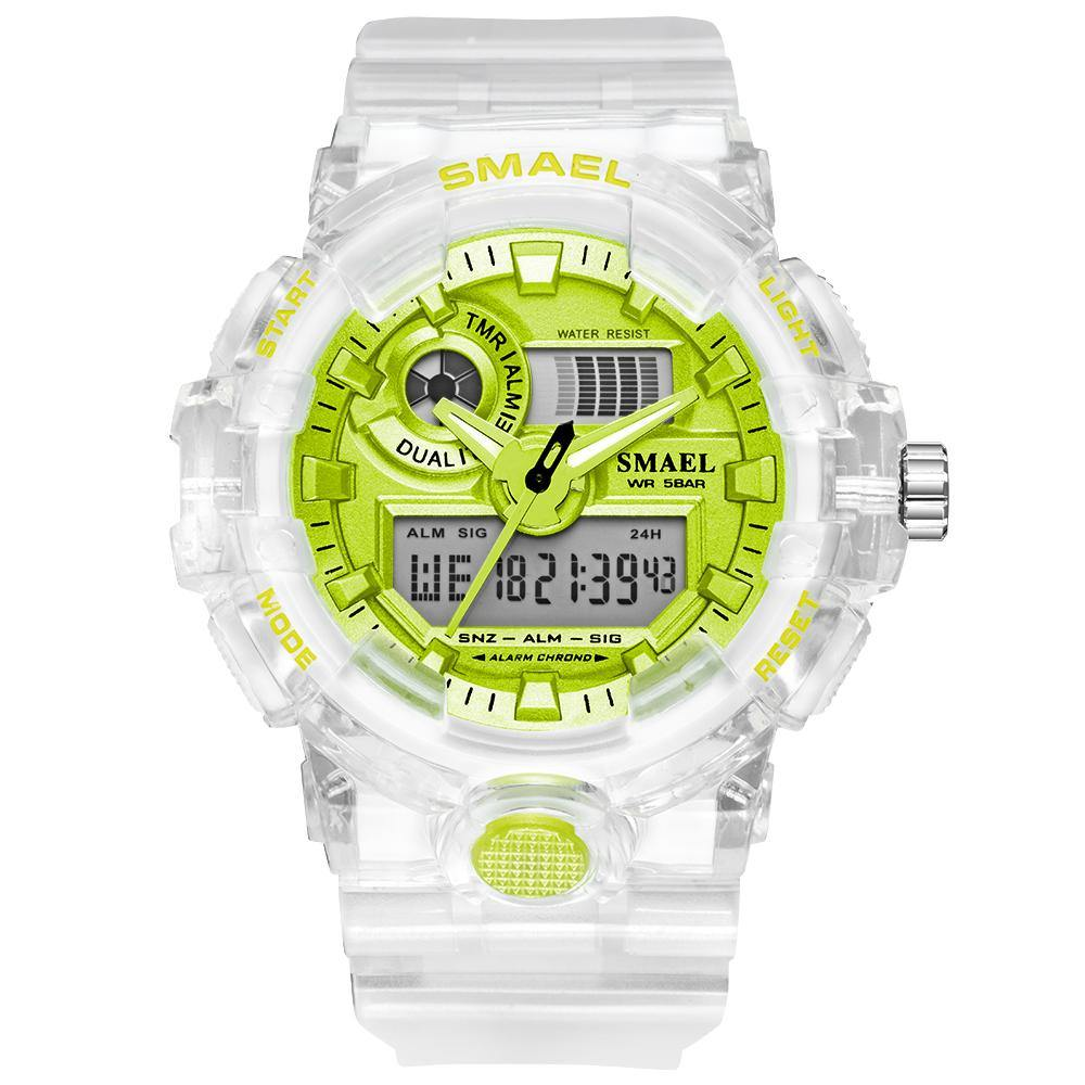 Smael 8023 Green Sports Watch