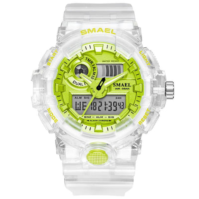 Smael 8023 Green Sports Watch - Smael South Africa