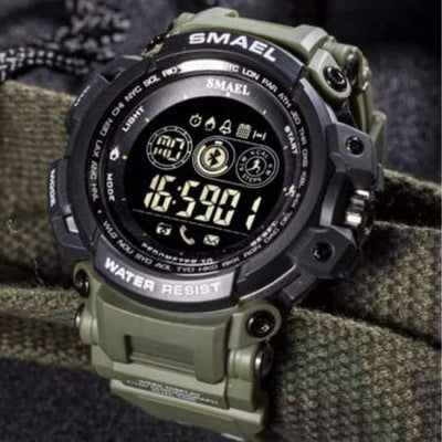 Smael Army Green 8018 Bluetooth Sport Watch-Smael South Africa-Smael South Africa