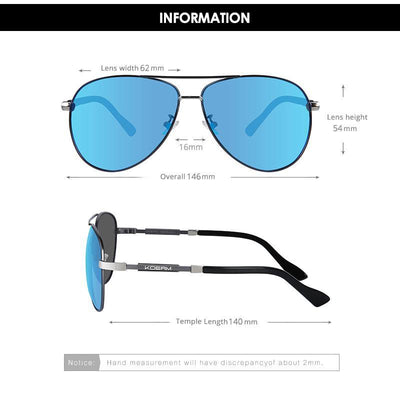 Kdeam KD8858 #8 Polarized Sunglasses