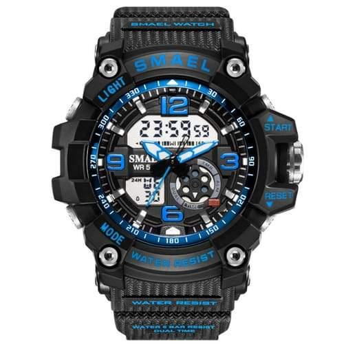 Kids Smael Blue Chronograph Watch-Smael South Africa-Smael South Africa