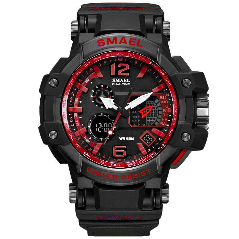 Smael 1509 Red Chronograph Watch - Smael South Africa