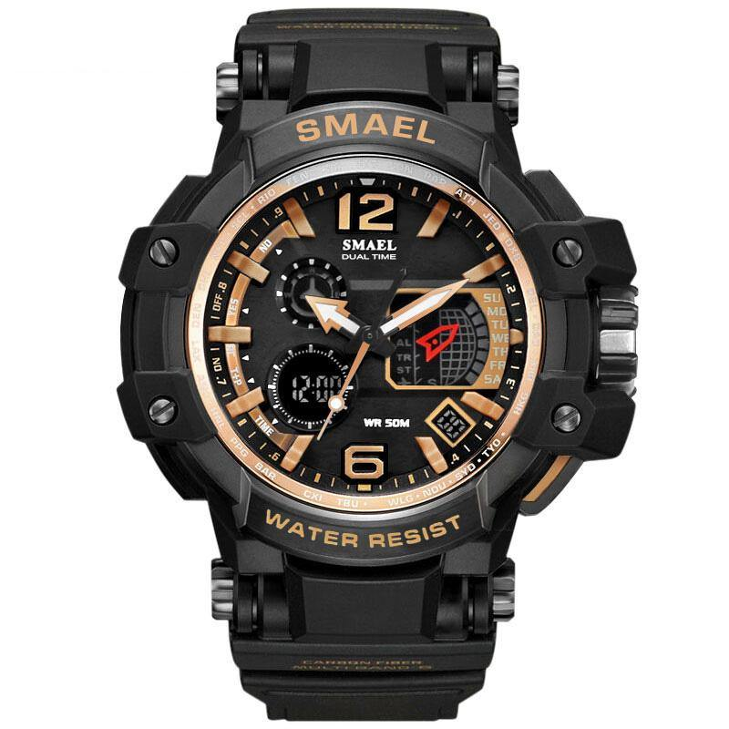 Smael 1509 Rose Gold Chronograph Watch - Smael South Africa