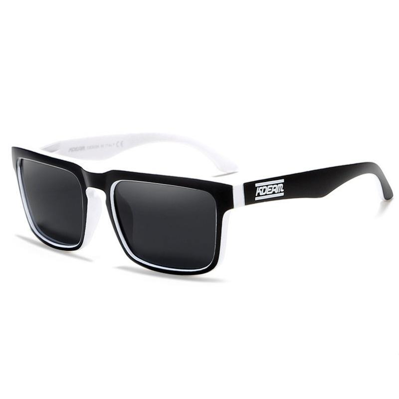 Kdeam KD901 Black/White Polarized Sunglasses-Smael South Africa-Smael South Africa