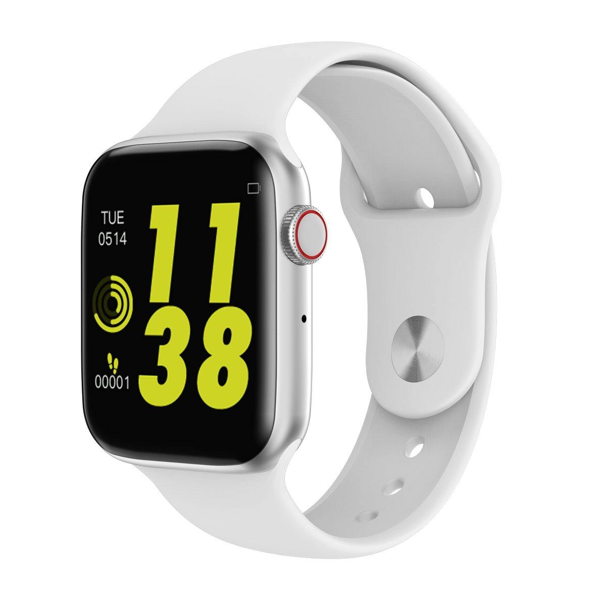 Microwear Watch 4 Fitness/Smartwatch - White