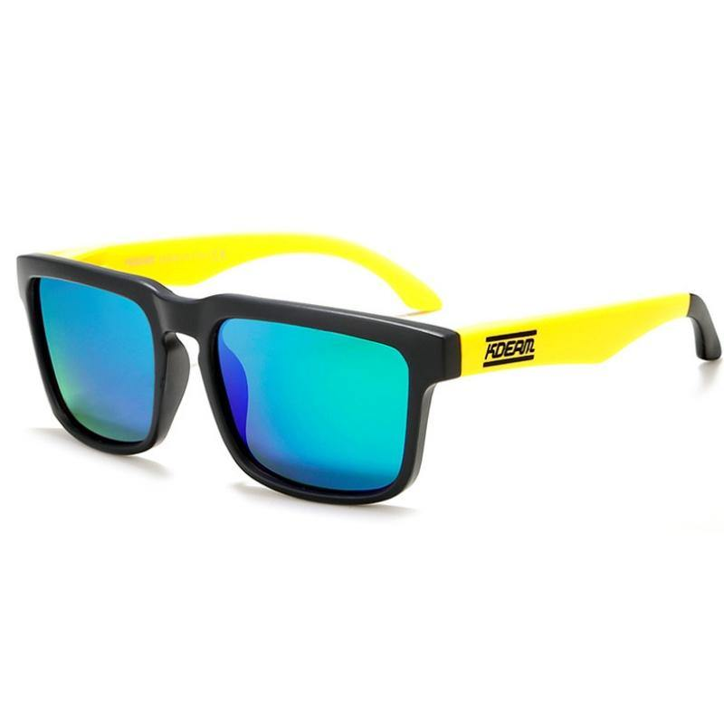 Kdeam KD901 Yellow/Black Polarized Sunglasses-Smael South Africa-Smael South Africa