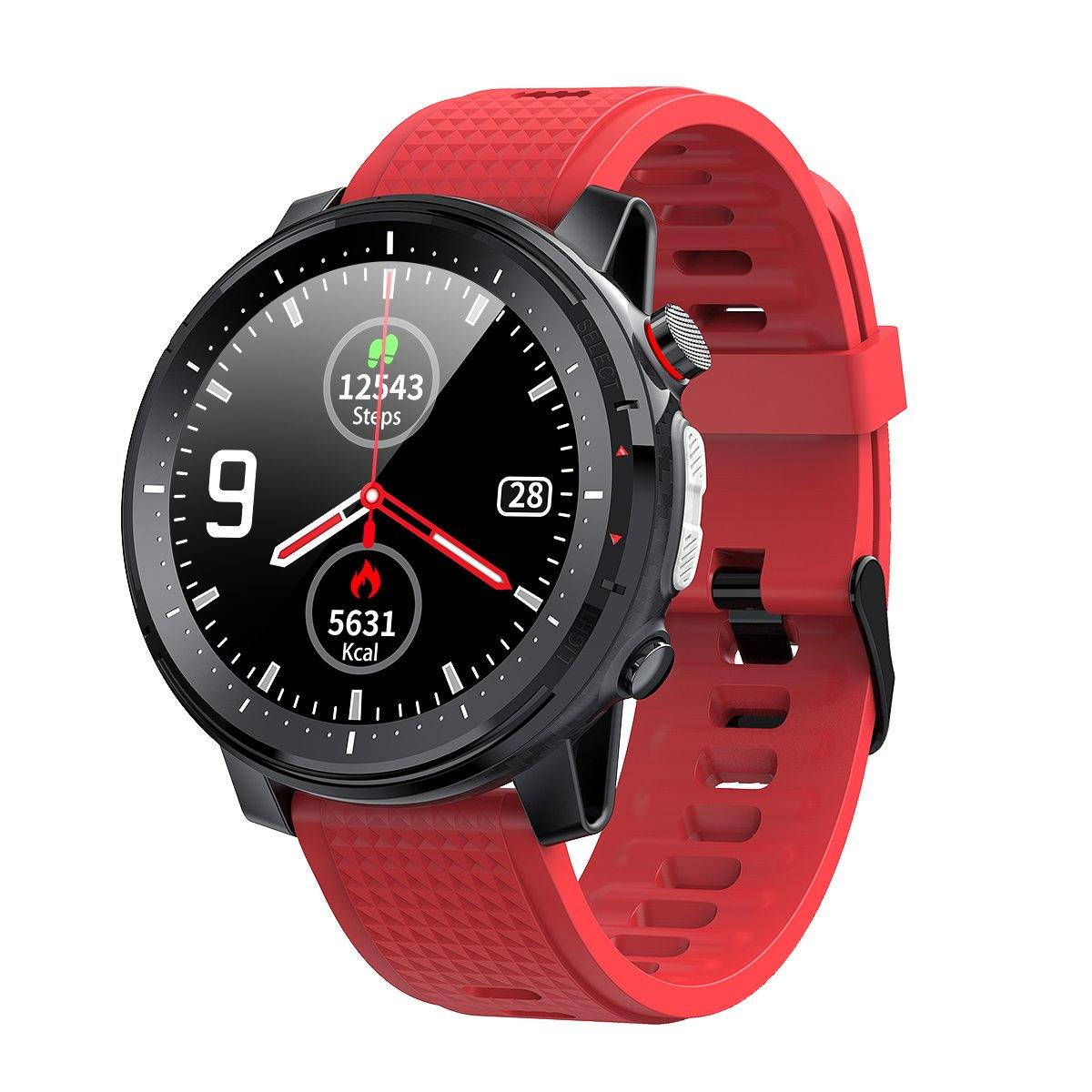 Microwear L15 Fitness/Smartwatch - Red
