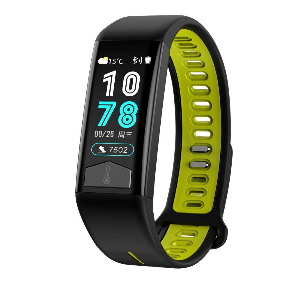 Microwear T02 Smart Fitness Bracelet Watch - Green