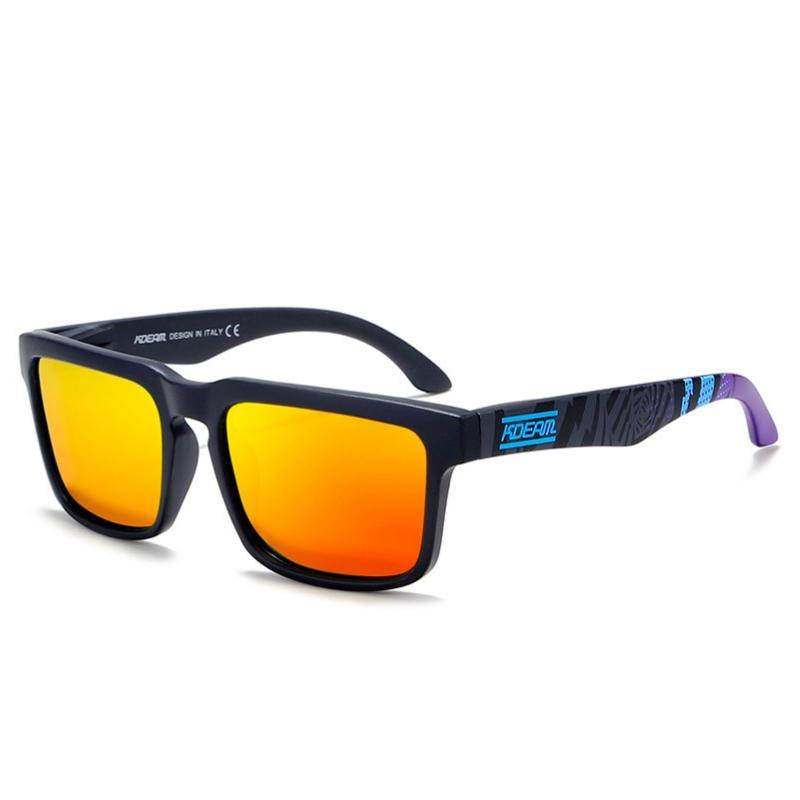 Kdeam KD901 Black/Orange2 Polarized Sunglasses-Smael South Africa-Smael South Africa