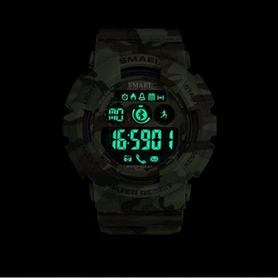 Smael Camouflage Army Green 8013 Bluetooth Sport Watch-Smael South Africa-Smael South Africa