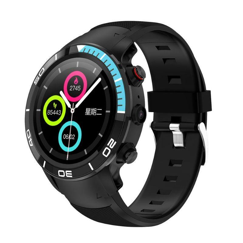 Microwear H8 4G Fitness/Smartwatch - Blue - Smael South Africa