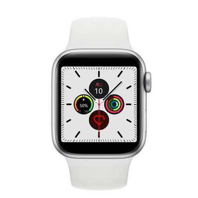 Microwear Watch 5 Fitness/Smartwatch - White Silicon - Smael South Africa
