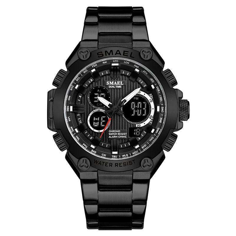 Smael SL-1363 Executive Watch - Black