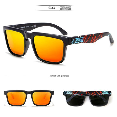 Kdeam KD901 Black/Orange3 Polarized Sunglasses-Smael South Africa-Smael South Africa