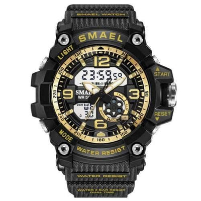 Kids Smael Gold Chronograph Watch-Smael South Africa-Smael South Africa