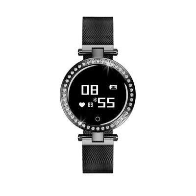 Microwear X10 Ladies Smart Fitness Watch - Black
